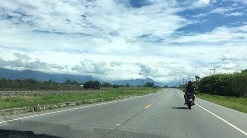 People On Motorcycle Traveling