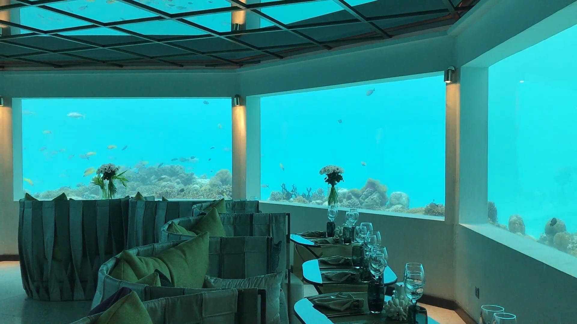 An Underwater Restaurant