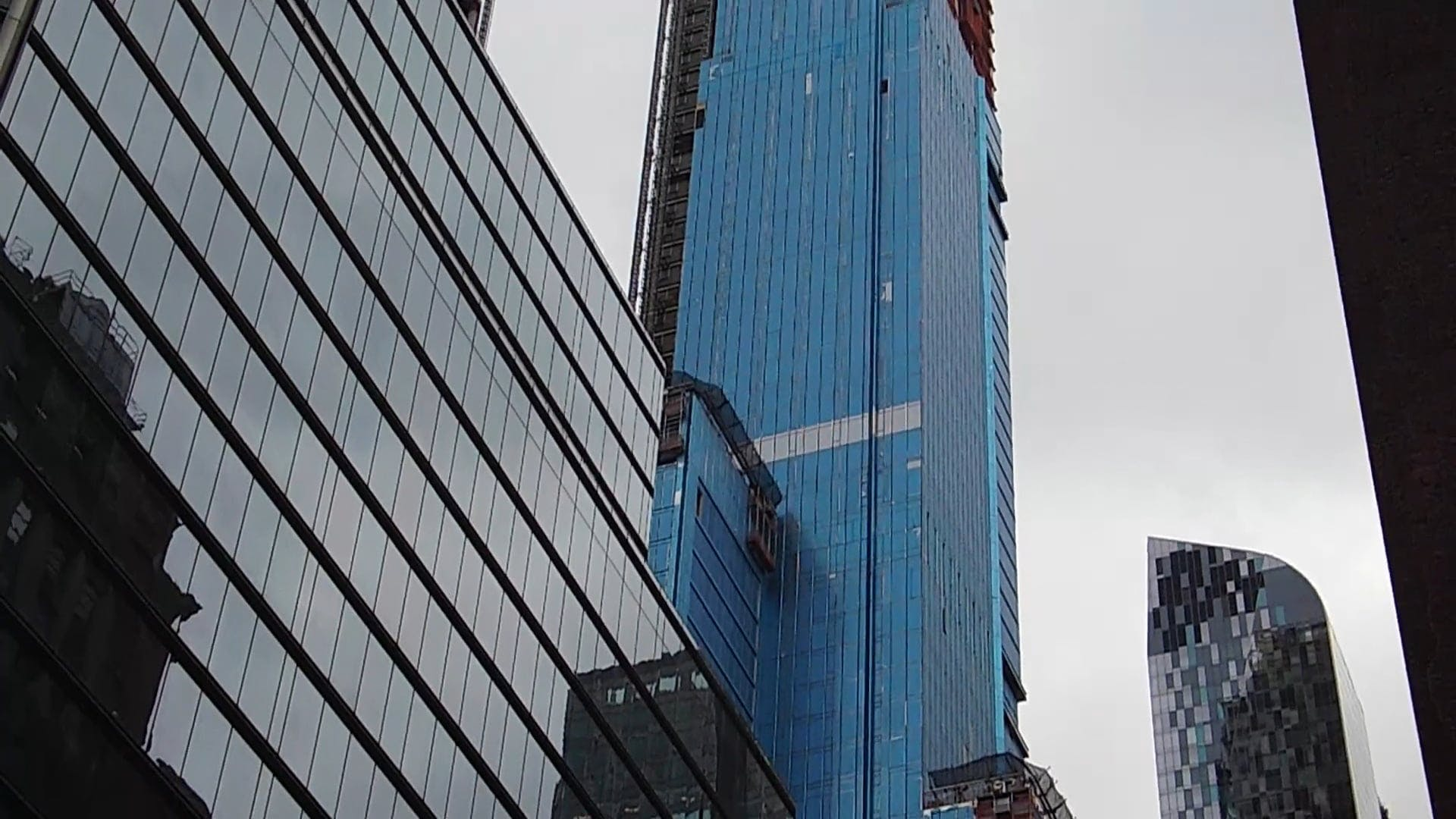 Low Angle Shot Of A Building Under Construction