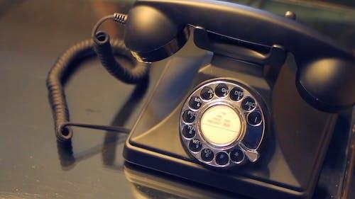 Un Teléfono Vintage Que Suena