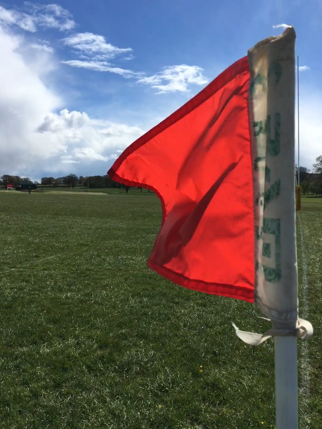 Red Flag In The Field