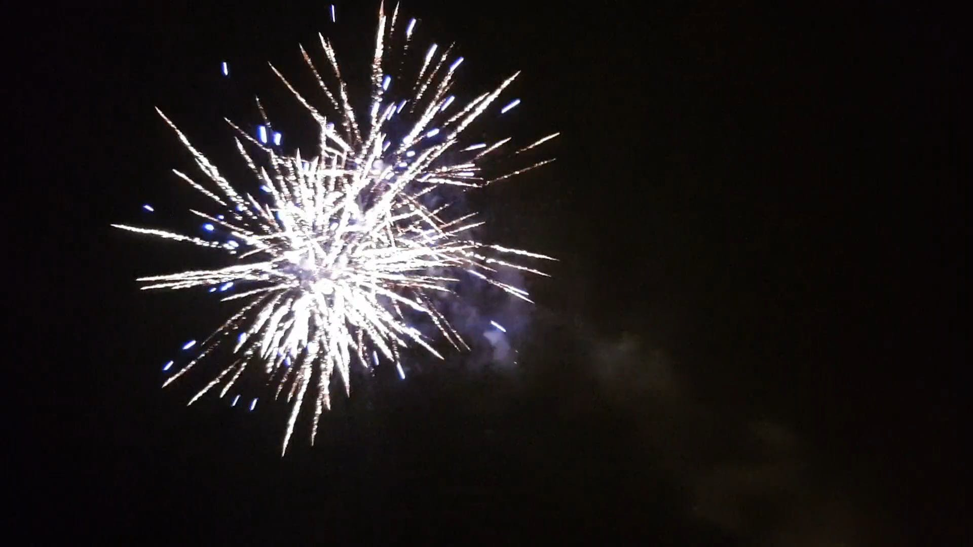 Fireworks Display At New Year