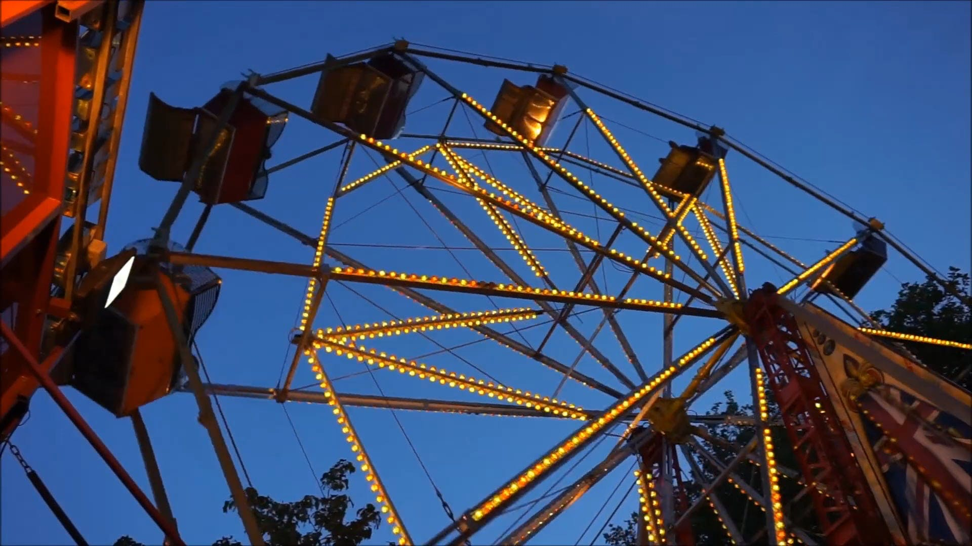 Low Angle Shot of A Ferris Wheel