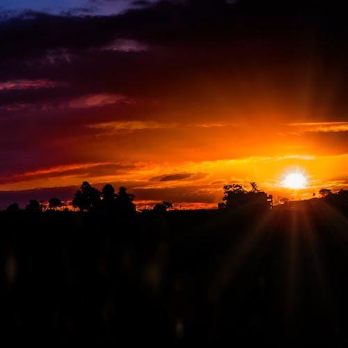 View Of A Beautiful Sunset