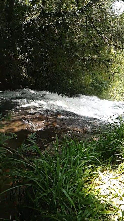 Slow Motion Video Of Waterfalls