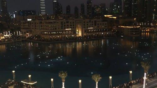 An Evening Show Of Lights