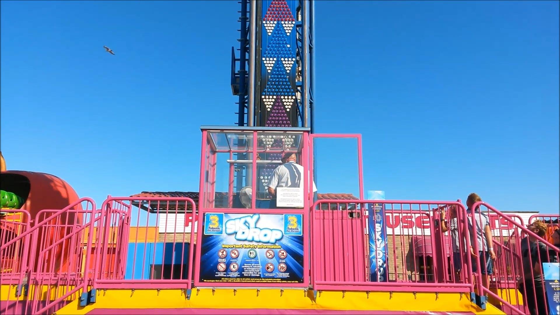 People Enjoying A Fun Ride