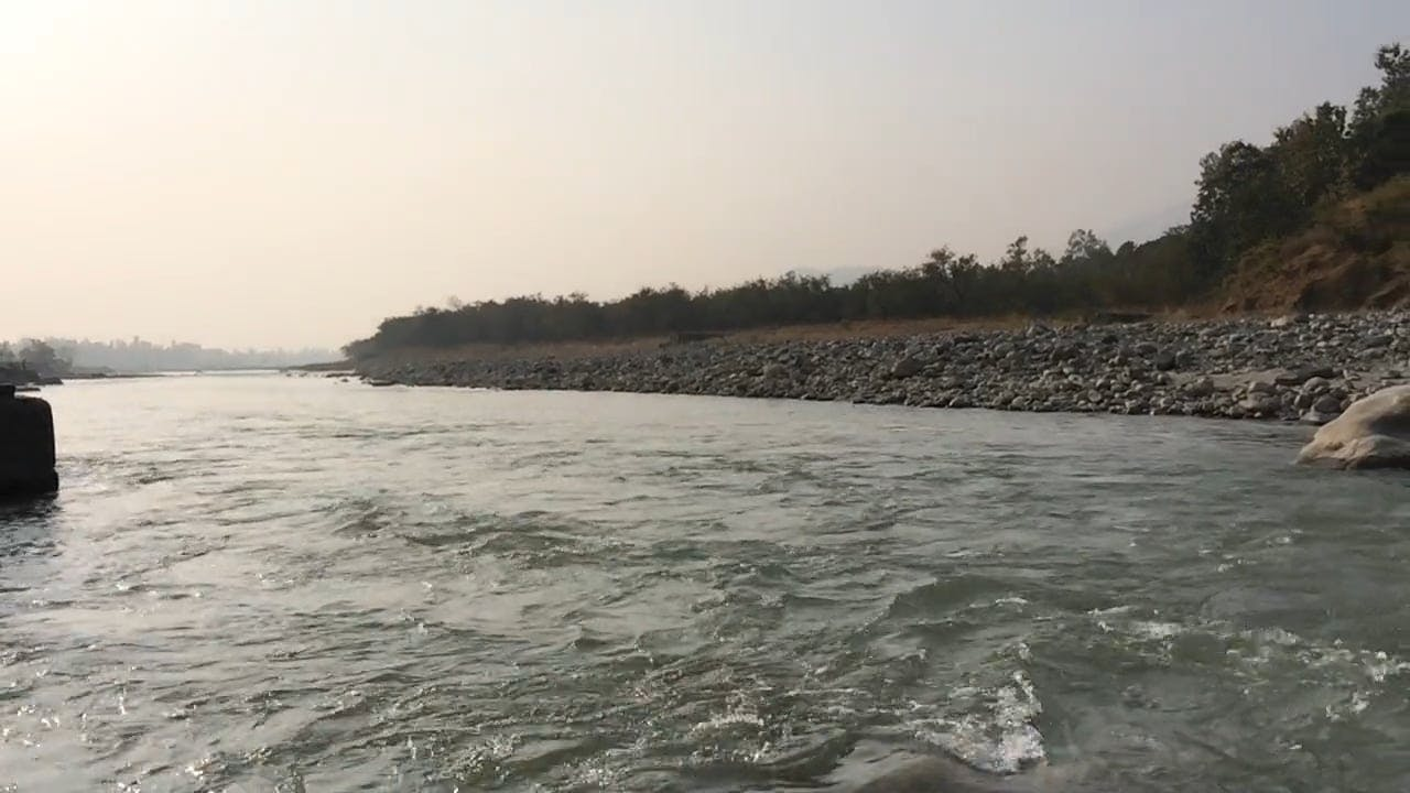 A Wide River With Strong Current
