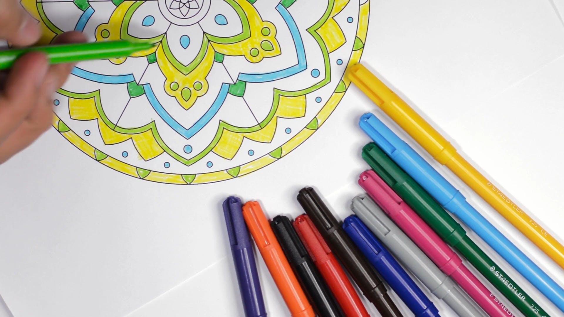 Coloring Art Materials