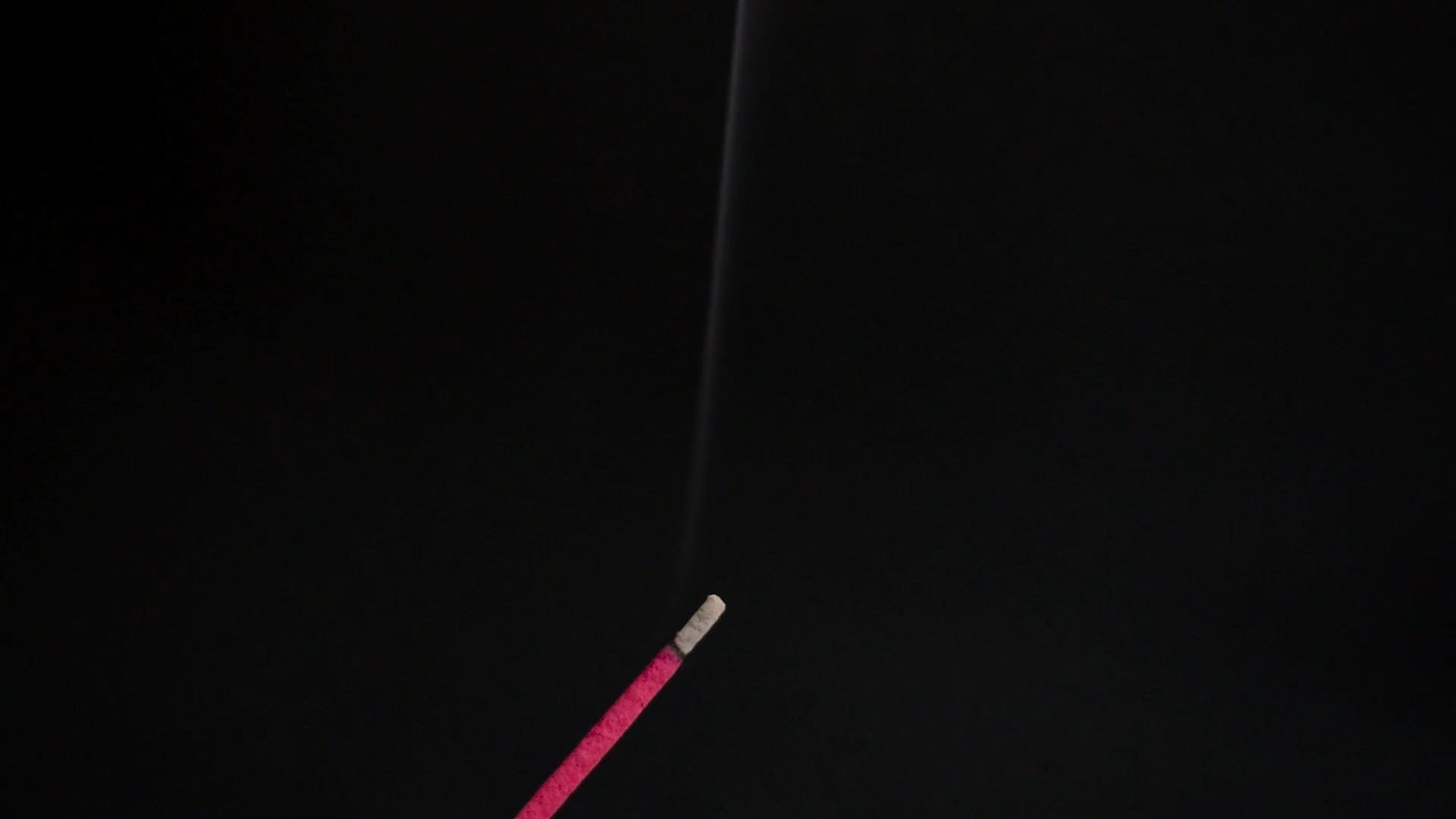 A Burning Incense Stick
