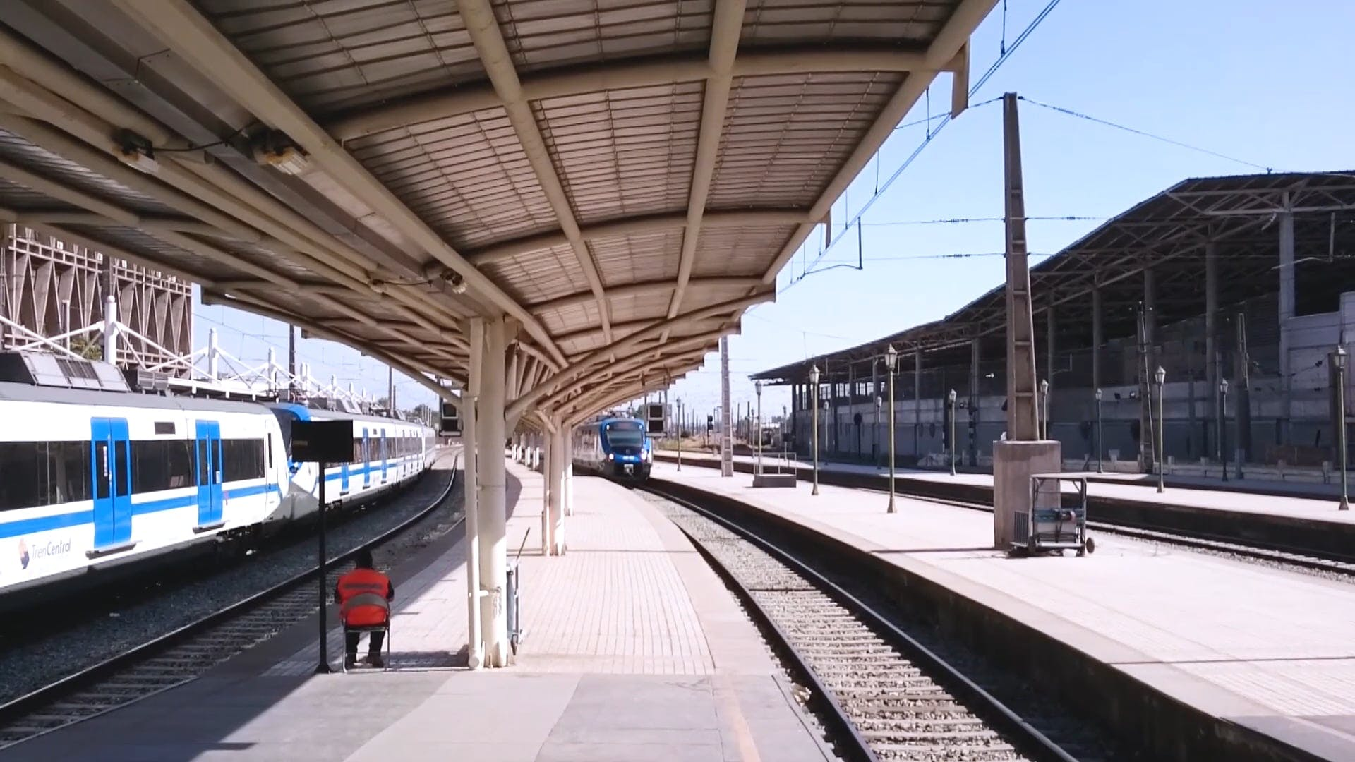 Train Arriving At The Station
