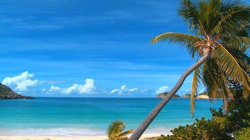 Schöne Aussicht Auf Einen Strand