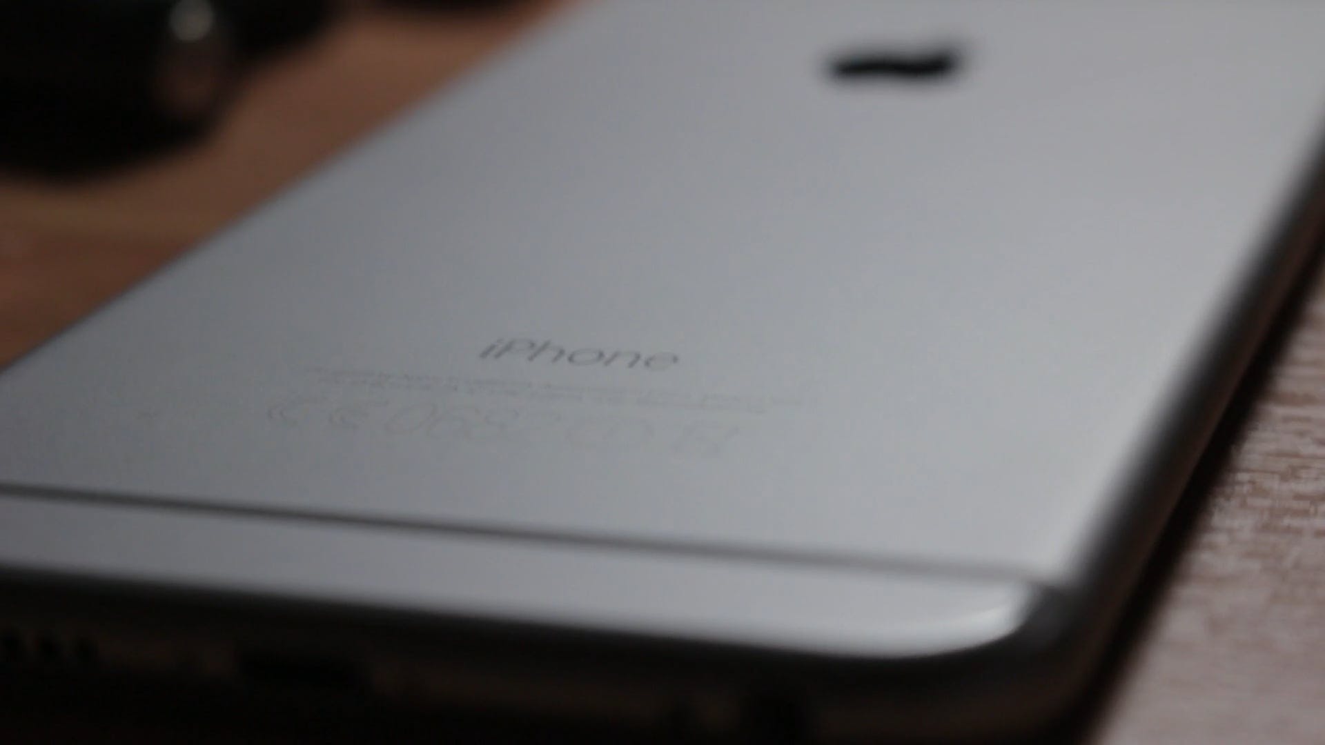 Close-Up View Of An Iphone