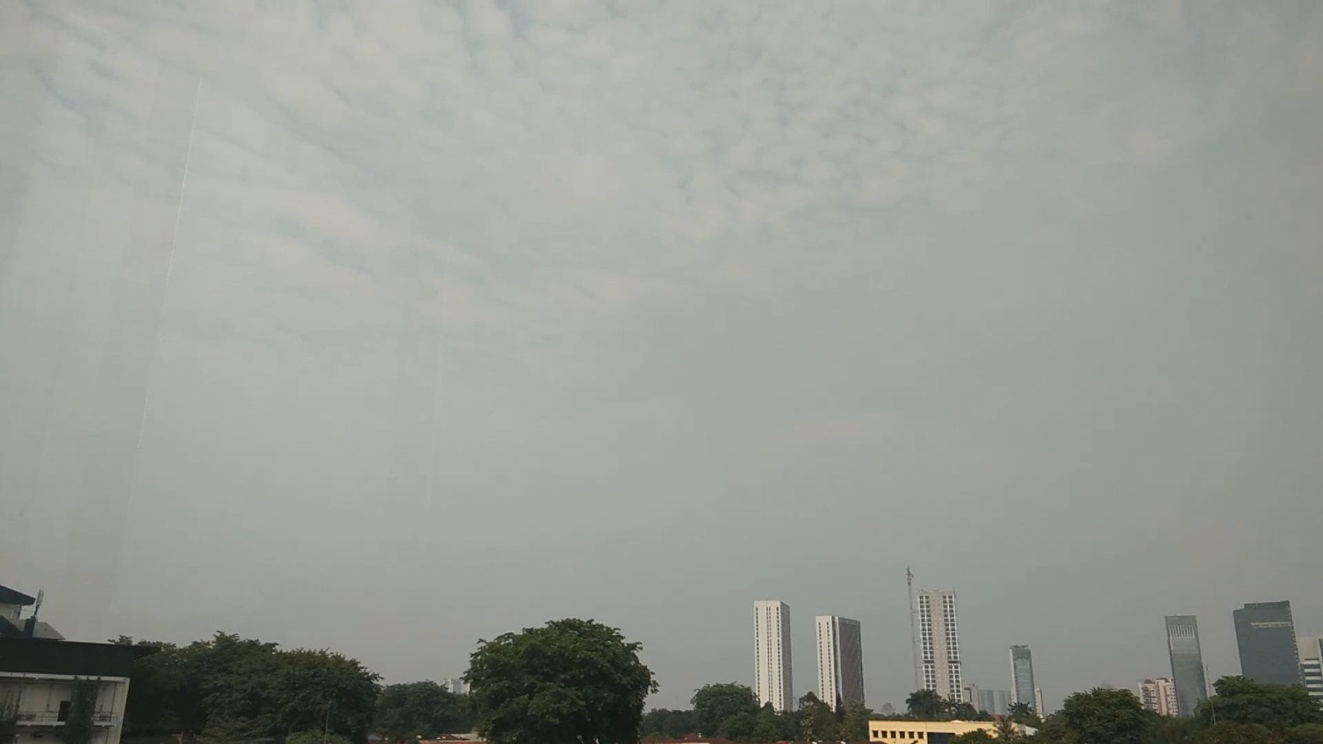 Movement Of Clouds In The Sky