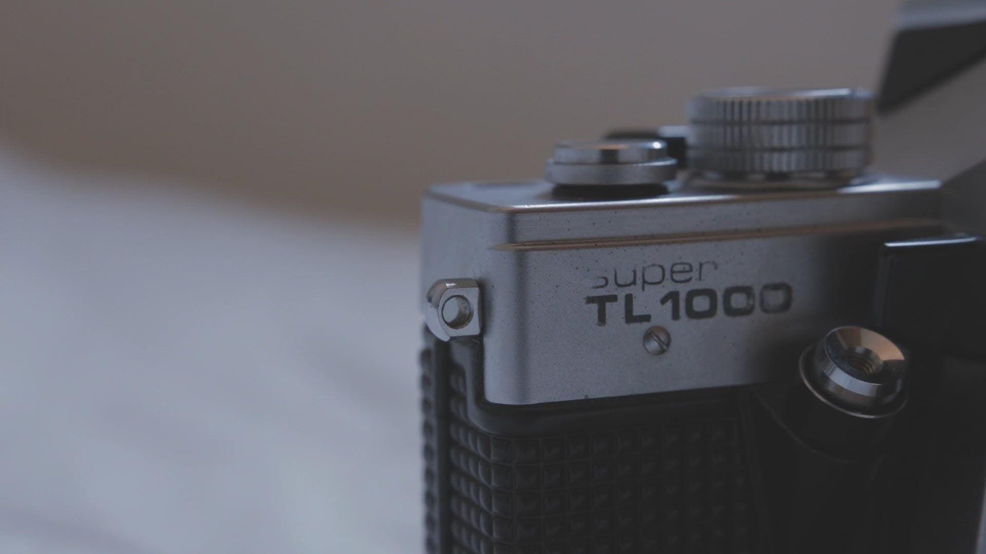 Close-Up View Of A Classic  Camera