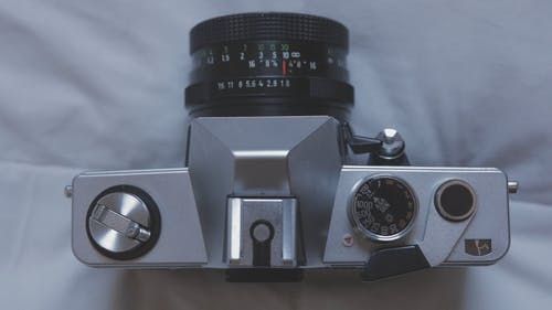 Top View Of A Camera