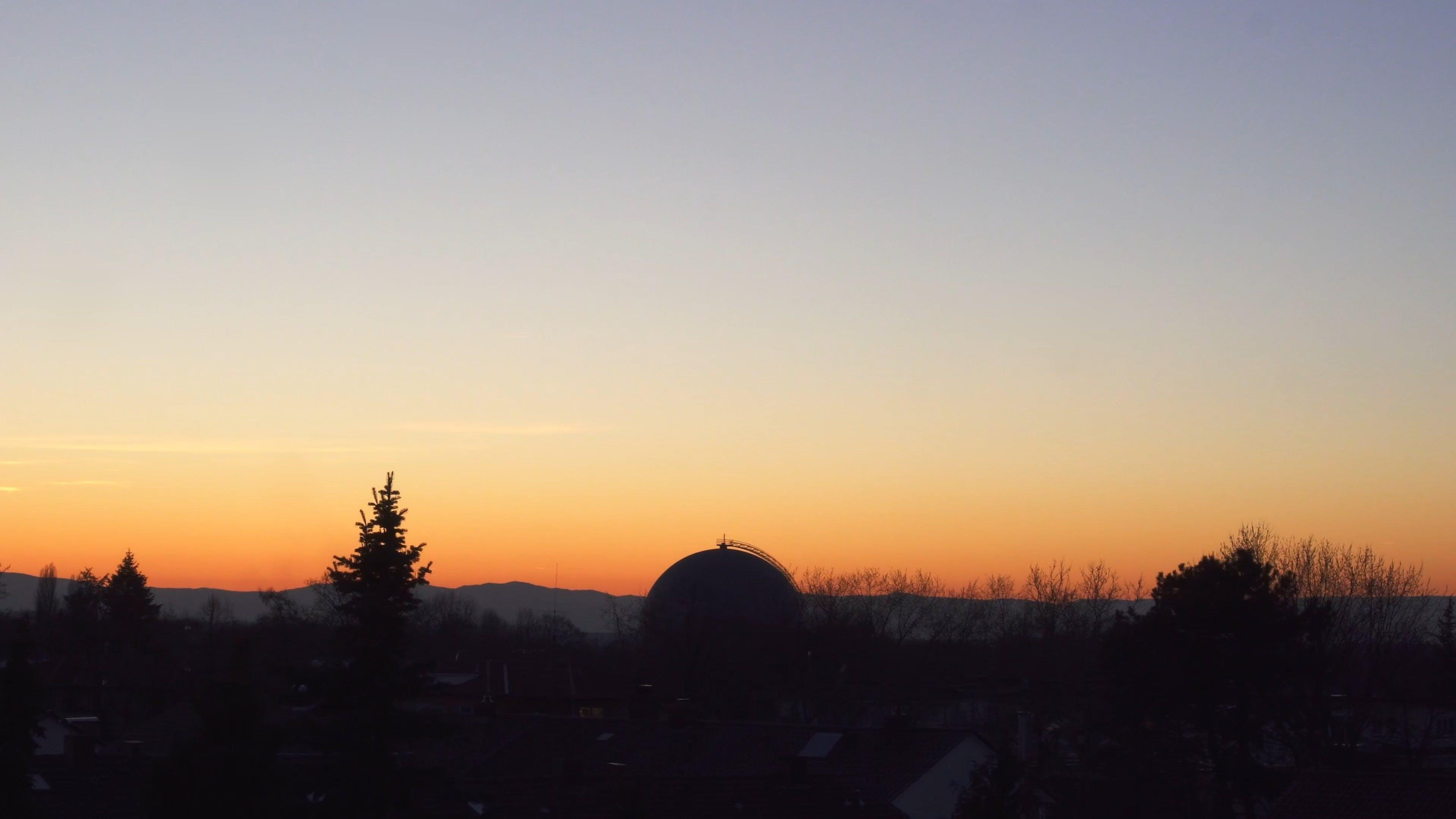 Sunset View Til Nightime