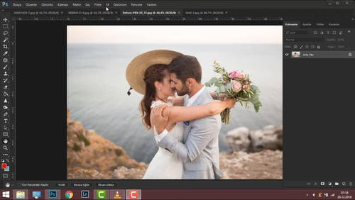 Process Of Editing A Picture