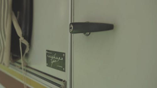 Close-Up View Of A Door Handle