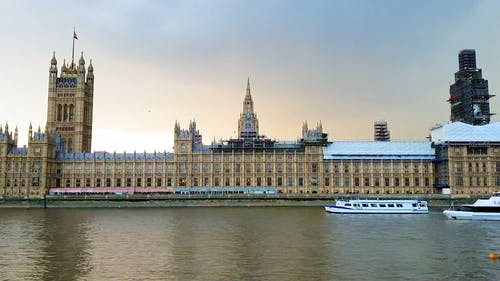View Of The Palace Of Westminster in London