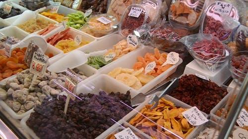 Variety Of Foods In Display