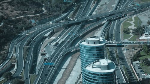 City With Roads and Flyovers