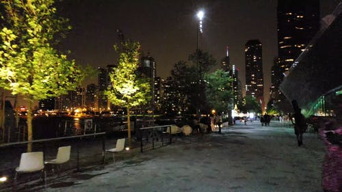 Nightlife At The City and Park