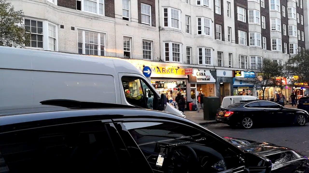 Queensway Market In London