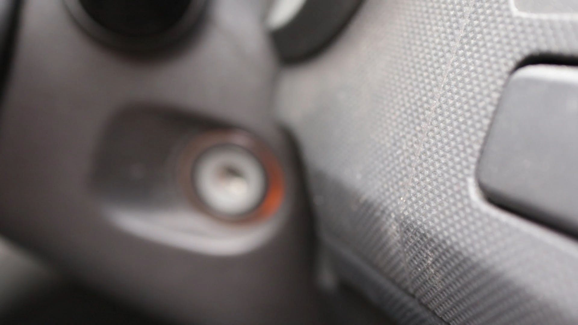 Close-Up View Of A Car Ignition