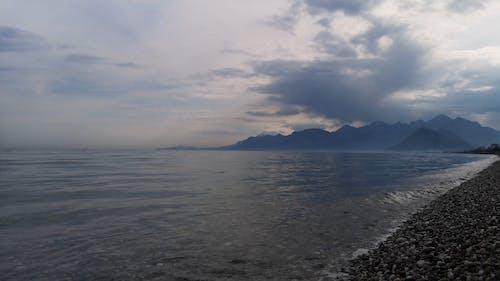 View Of Calm Sea At Dawn
