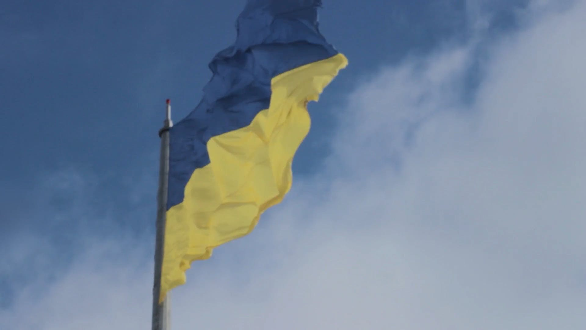 Flag With Yellow and Blue Color