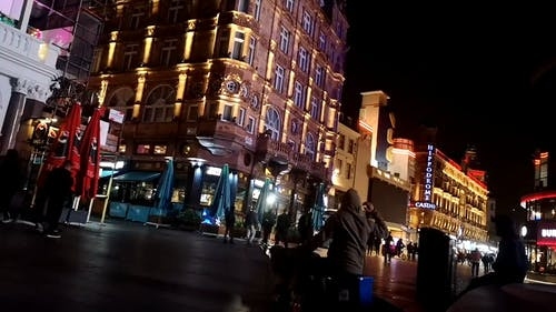 Nightlife In Leicester Square, London