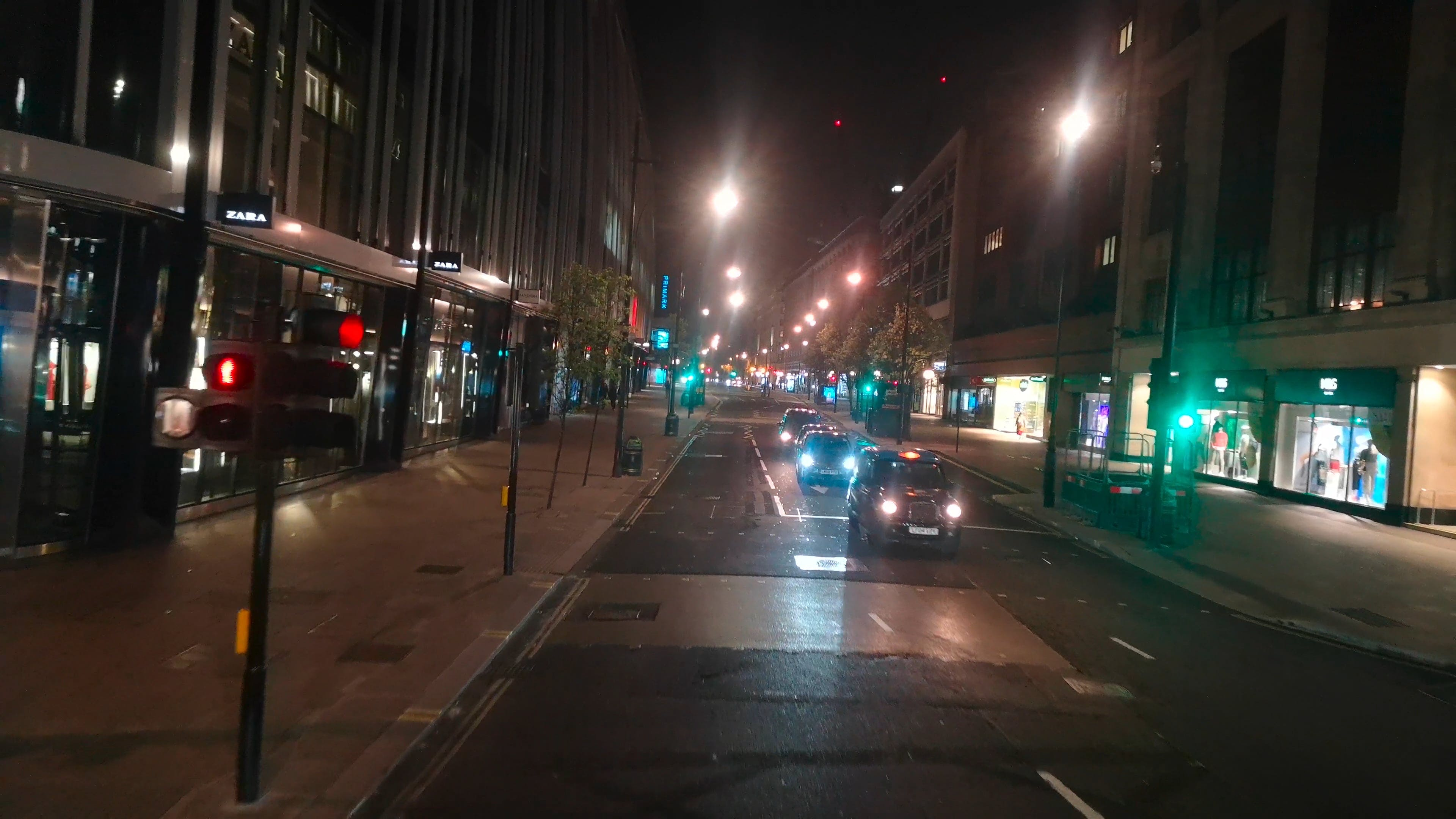 Travelling At Night In London