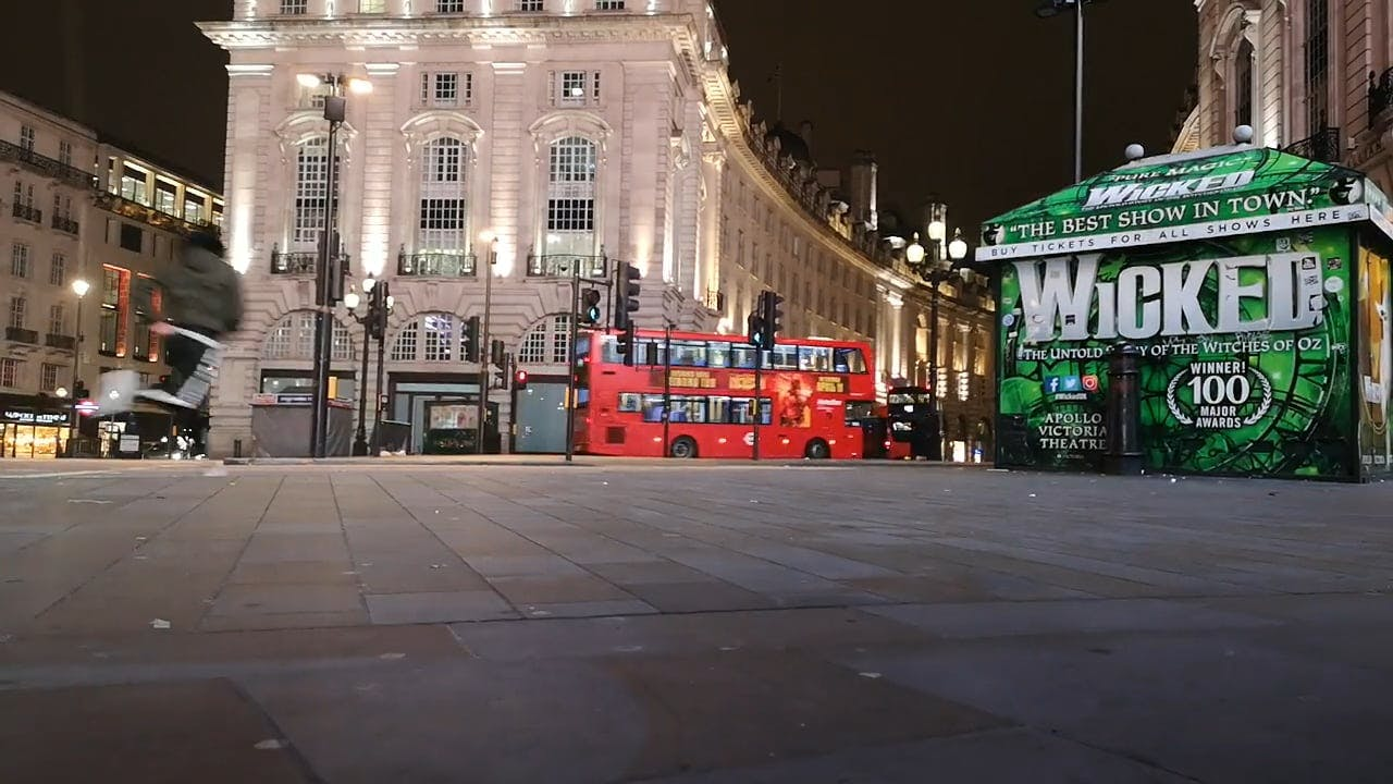 Nightlife In The City Of England