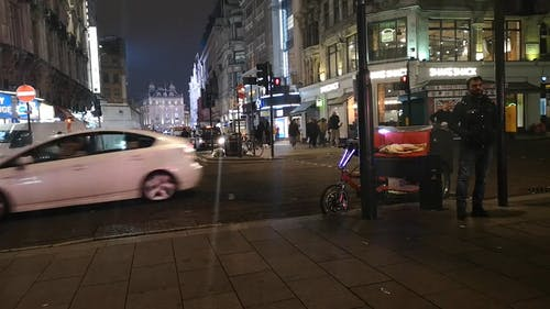 Nightlife At Central London