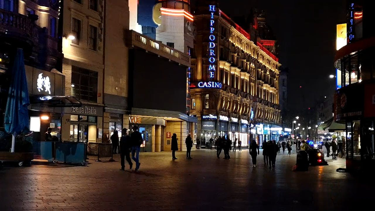 Hippodrome Casino at Leicester Square, London