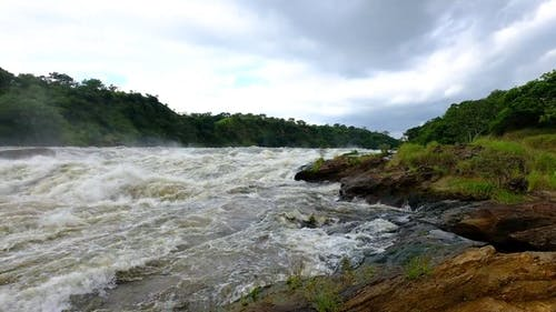 River With Strong Current