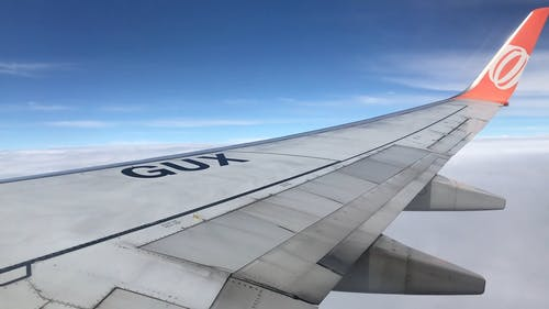An Airplane's Wing