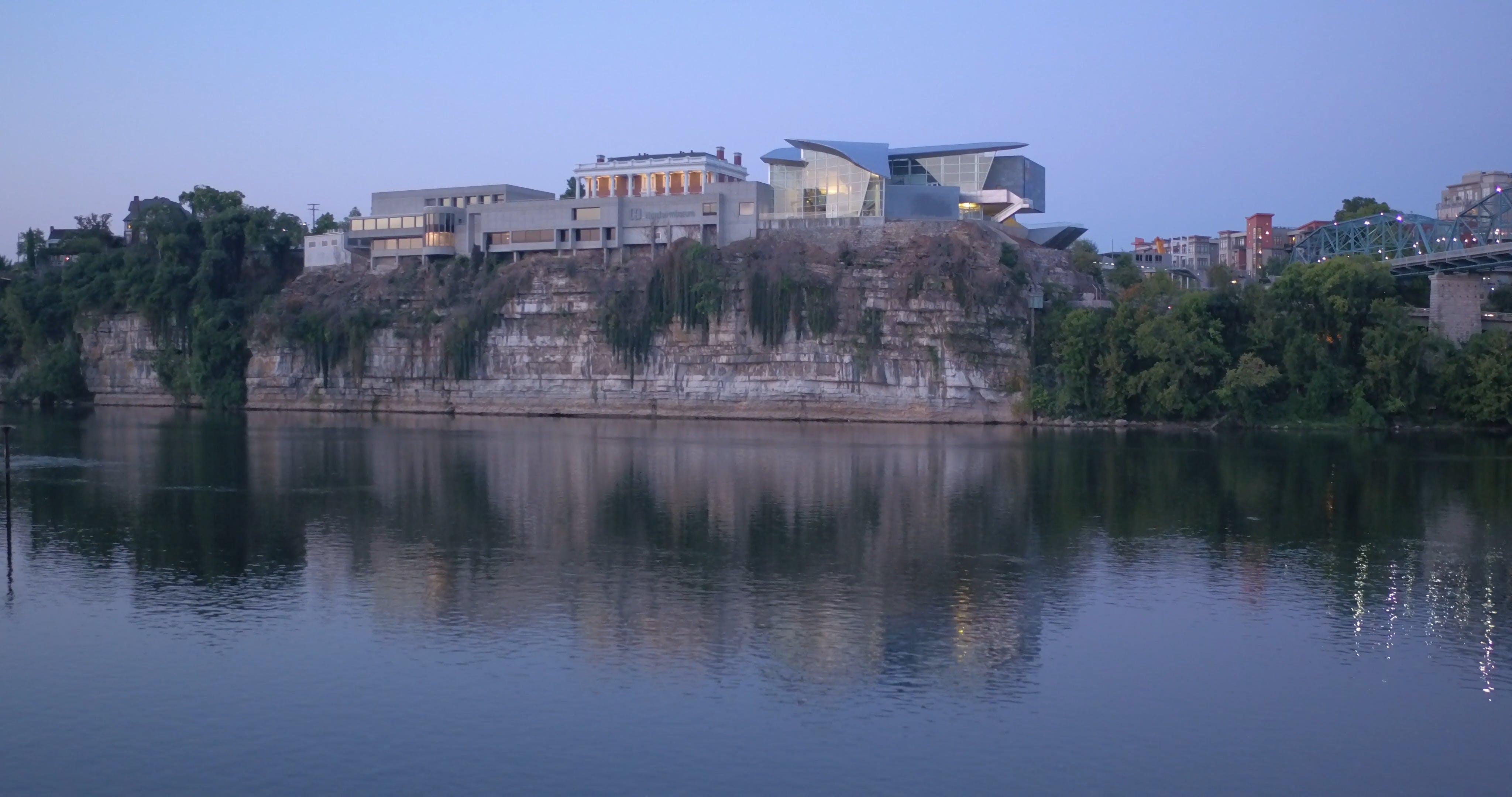 City Beside A River