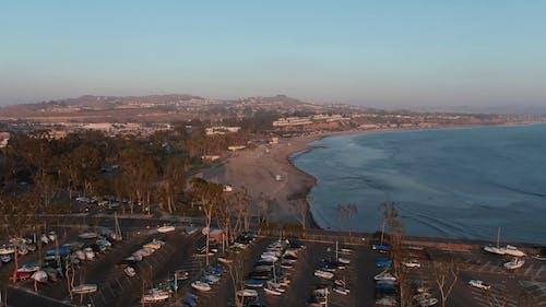 Aerial Footage of A Beach