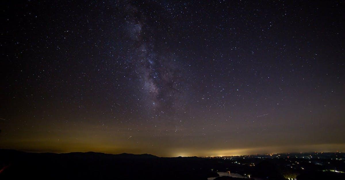 того, параметры фотографирования звездного неба благодарна ему