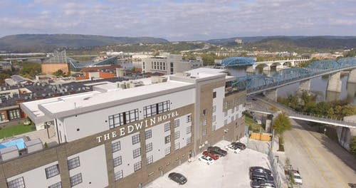 The Edwin Hotel In The Town Of Chattanooga, Tennessee