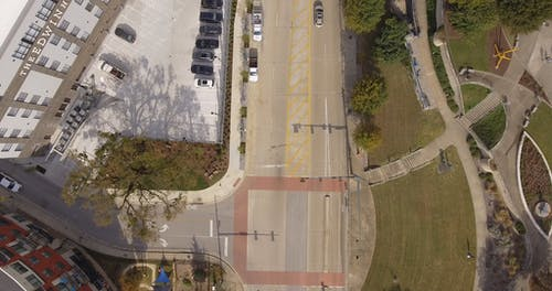 Aerial Footage Of An Area In Chattanooga TN