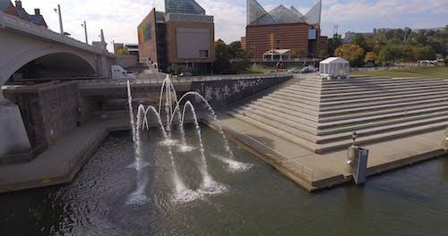 Water Fountain Alongside The Road