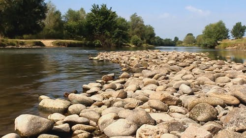 Stepping Stones On The River