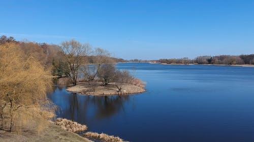 Lake Under A Blue Sky
