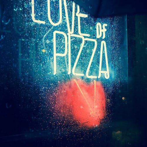 A Pizza Sign Board