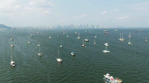 Yachts At A Sea Harbor