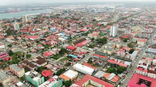 Luftaufnahmen Einer Stadt