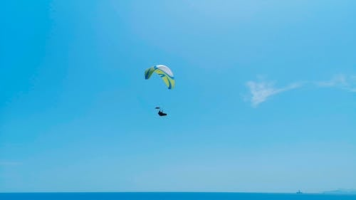 Flying A Paraglider